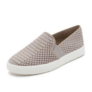 Vince - Blair Slip-On Sneakers. Fossil. 8.5